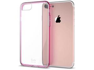 iLuv AI7PVYNE Vyneer Hardshell Case for iPhone 7 Plus, Pink