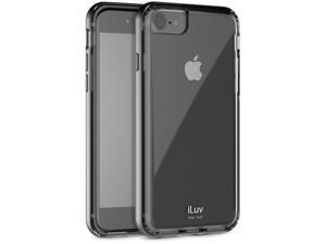 iLuv AI7METF Metal Forge Case for iPhone 7, Black