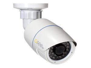 Q-See QTN8059B 4MP/1080p H.265 HD IP Bullet Security Camera (White)