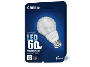 Cree 9-Watt (60W) A19 Daylight (5000K) Dimmable LED Light Bulb