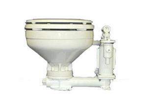 Raritan Standard Electric Toilet - White Marine-Size Bowl - 12V