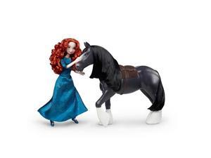 Disney Pixar Brave Merida and Angus Doll Set