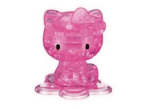 3D Crystal Puzzle-Hello Kitty Pink