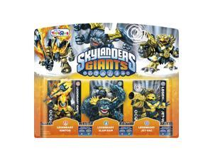 Skylanders Giants Legendary Ignitor, Slam Bam, and Jet-Vac Character Pack