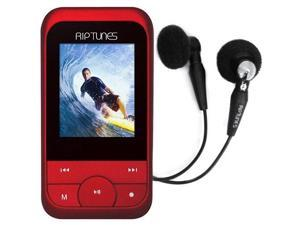 Riptunes 4GB MP3 Player - Red