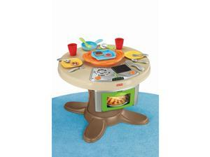 Fisher-Price Servin' Surprises Cook 'n Serve Kitchen and Table Set #zTM