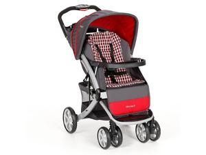 The First Years Burst Stroller - Gray Plaid