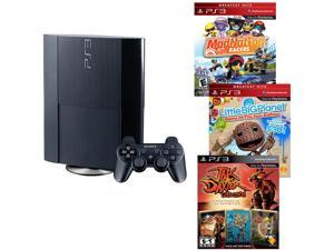 Sony PS3 12 GB 3 Game Value Bundle