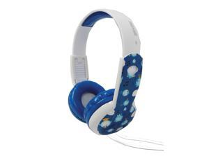 Maxell Safe Sound Headphones - Blue/White