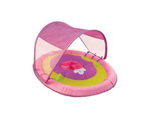 Swimways Pink and Purple Baby Spring Float with Canopy - Stage 1