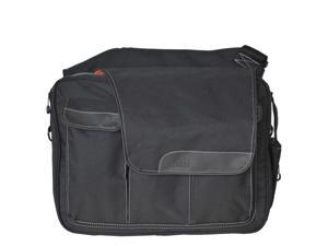 Diaper Dude Messenger II Diaper Bag - Black