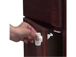 Kidco Adhesive Mount Magnetic Drawer-Door Locks - 4 Locks