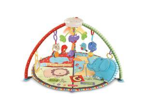 Fisher-Price Luv U Zoo Deluxe Musical Mobile Gym #zTS