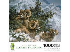 The Art of Larry Fanning - Rocky Mountain Big Horn Sheep: 1000 Pcs