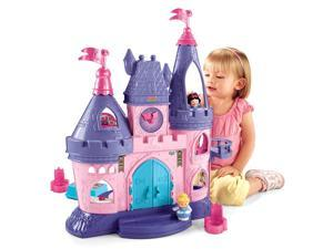 Fisher-Price Little People Disney Princess Song Palace #zTM