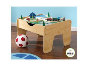 KidKraft 2-in-1 Activity Table with LEGO Compatible Board