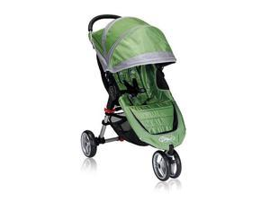 Baby Jogger City Mini Single Stroller - Green/Gray