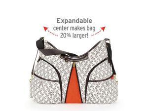 Skip Hop Versa Expandable Diaper Bag - Cream Links