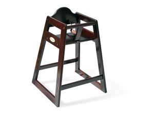 Foundations Ultimate Food Service Wooden High Chair - Antique Cherry