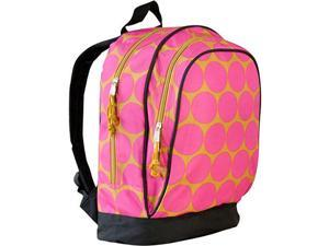Wildkin Sidekick Backpack - Hot Pink Big Dots