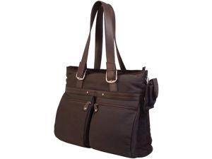 "Mobile Edge 16"" Eco Casual Tote Chocolate"