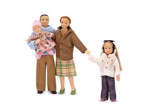 Melissa & Doug Victorian Dollhouse Family