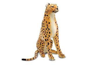 Melissa & Doug Lifelike and Lovable Plush Cheetah