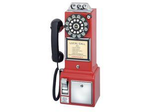 Crosley 1950's Pay Phone- Red