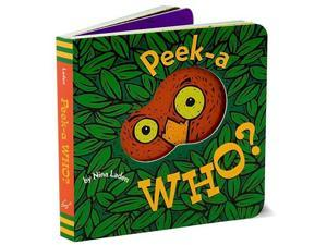 Peek-A-Who Board Book