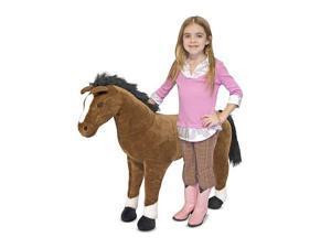 Melissa & Doug Deluxe Giant Standing Horse