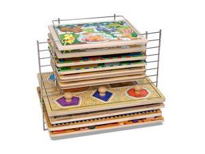 Melissa & Doug Melissa And Doug Deluxe Wire Puzzle Rack