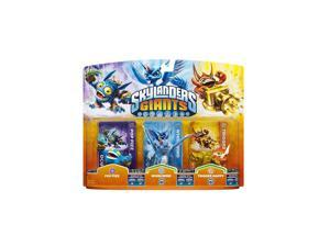 Skylanders Giants: Triple Packs -Pop Fizz, Whirlwind, and Trigger Happy