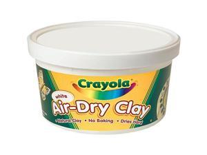 Crayola Air Dry Clay 2.5 Pound Tub-White