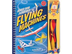 Rubber Band Powered Flying Machines Kit-