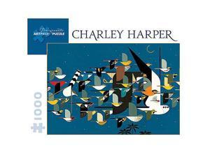 Charley Harper Mystery of the Missing Migrants Puzzle - 1000-Piece
