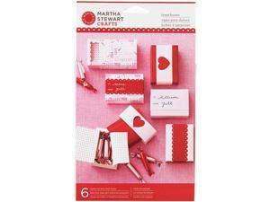Martha Stewart Mini Match Box - 6-Pack - Valentine's Day