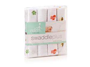 aden by aden anais 100% Cotton Muslin Swaddle - 4 Pack - Life's a Hoot