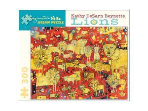 Kathy DeZarn Beynette - Lions Puzzle: 300 Pieces