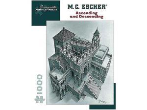 MC Escher Ascending and Descending Jigsaw Puzzle - 1000-Piece