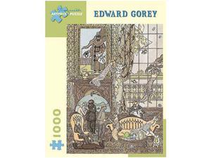 Edward Gorey Frawgge Manufacturing Co Puzzle - 1000-Piece