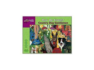 Country Dog Gentlemen Puzzle - 1000-Piece