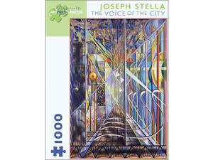 Joseph Stella - The Voice of the City Puzzle: 1000 Pcs