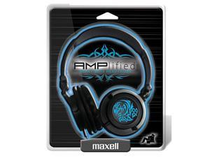 Maxell AMPlified Headphones - Tribal Blueglow