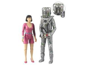 Doctor Who Peri & Rogue Cyberman
