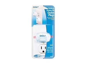 Safety 1st 8 Pack Deluxe Press-Fit Outlet Plugs