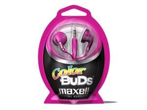 Maxell Stereo Ear Buds in Pink