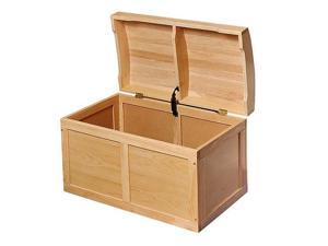 Badger Basket Barrel Top Toy Chest - Natural