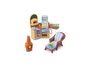 Fisher-Price Loving Family Dollhouse Furniture Set - Outdoor Barbecue