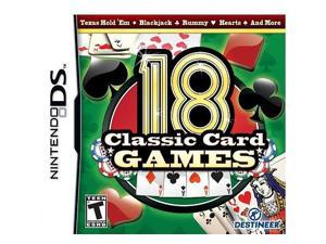 18 Classic Card Games for Nintendo DS