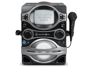"""Singing Machine CDG Karaoke Player with 5.5"""" Black & White Monitor"""